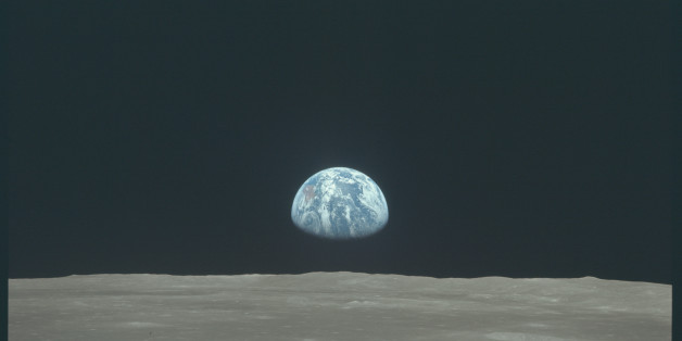 Earth rises above the moon's horizon during the Apollo 11 lunar mission in this July 1969 NASA handout photo. The photograph is one of more than 12,000 from NASA's archives recently aggregated on the Project Apollo Archive Flickr account.  REUTERS/NASA/Handout via Reuters  THIS IMAGE HAS BEEN SUPPLIED BY A THIRD PARTY. IT IS DISTRIBUTED, EXACTLY AS RECEIVED BY REUTERS, AS A SERVICE TO CLIENTS. FOR EDITORIAL USE ONLY. NOT FOR SALE FOR MARKETING OR ADVERTISING CAMPAIGNS