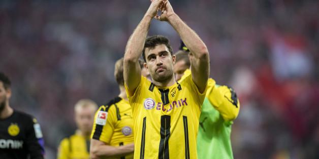 """""""Ich fühle mich wie ein Tier, nicht wie ein Mensch"""": BVB-Spieler Sokratis rechnet mit der UEFA ab (Archivbild)"""