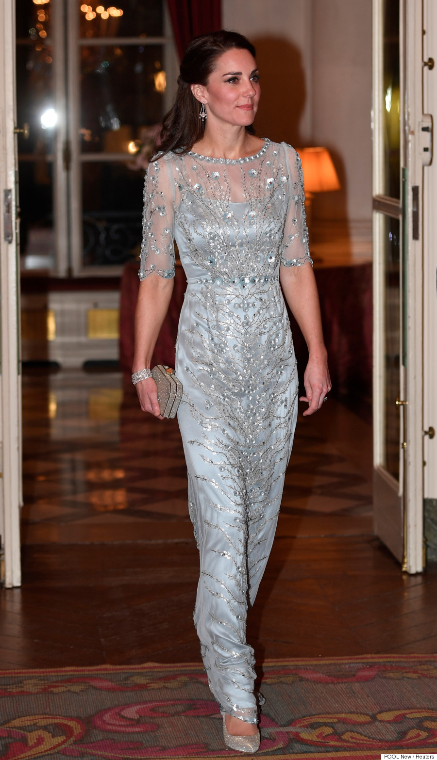 duchess of cambridge paris
