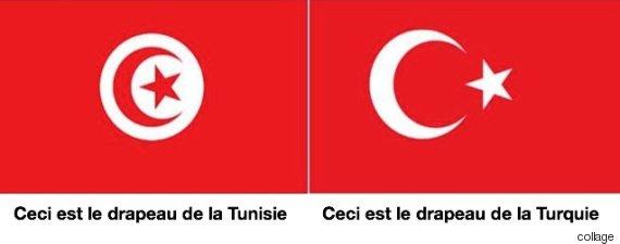 drapeau tunisie turquie