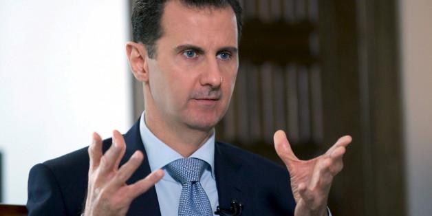 """Syriens Diktator Assad behauptet: Chemiewaffenangriff zu """"hundert Prozent konstruiert"""""""