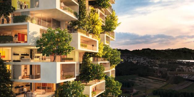 """Der """"Zedernturm"""" in der Schweiz ist nur eines der vielen Projekte, die derzeit entstehen."""