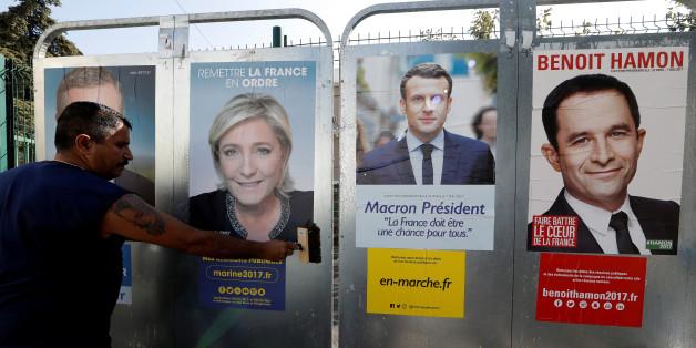 Noch ist der Ausgang der Präsidentschaftswahlen in Frankreich völlig offen