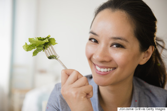 asian eat healthy