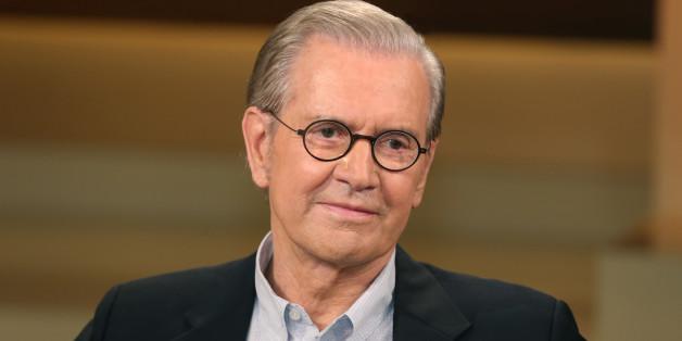 Der Publizist Jürgen Todenhöfer in der Sendung von Anne Will