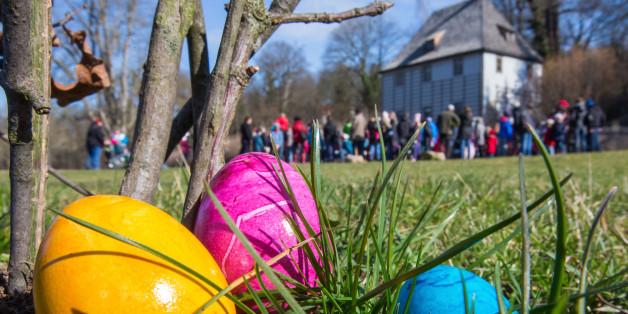Dreiste Diebe in Bochum klauen tausende Ostereier für Kinder (Symbolbild)