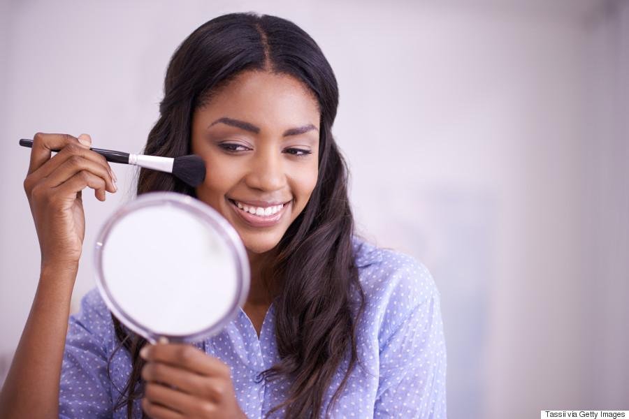 black woman makeup