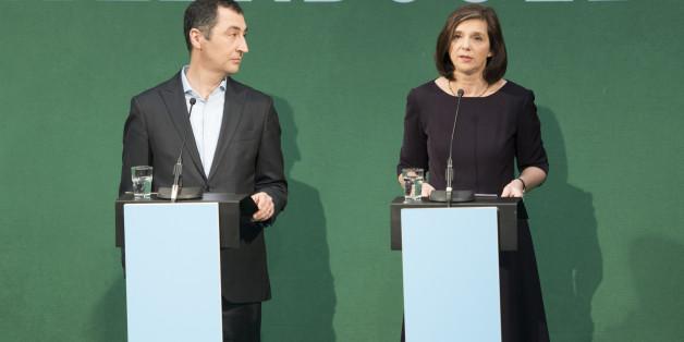 Grünes Spitzenduo: Katrin Göring-Eckardt und Cem Özdemir