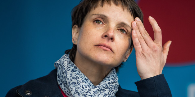 Die AfD-Sprecherin Frauke Petry