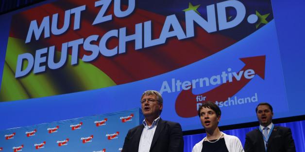 Frauke Petry und Joerg Meuthen auf dem AfD-Parteitag 2016