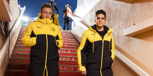 Marc Bartra (rechts) überraschte seine Teamkollegen in Monaco