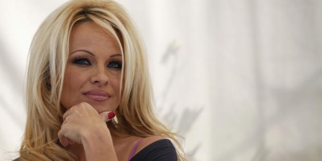 Warum Pamela Anderson im französischen Wahlkampf mitmischt