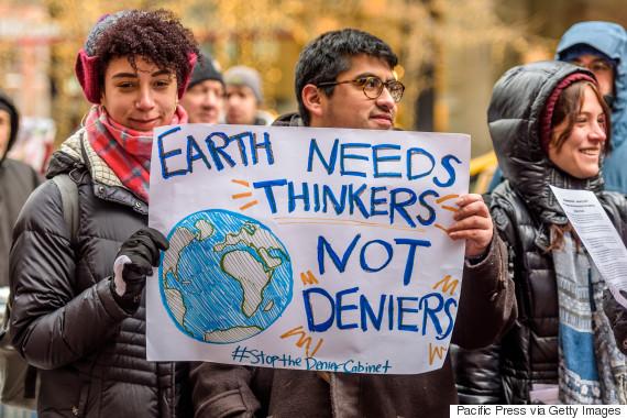 science protest trump