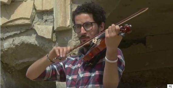 violinist mosul