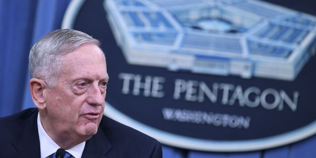 US Secretary of Defense James Mattis takes part in a briefing at the Pentagon in Washington, DC on April 11, 2017.The United States has 'no doubt' that the regime of Syrian President Bashar al-Assad was responsible for last week's chemical attack on a rebel-held town that left dozens dead, Pentagon chief Jim Mattis said Tuesday. Mattis told reporters that Washington's military strategy in Syria had not changed even after its retaliatory missile strikes on a Syrian air base, noting 'our priority