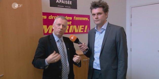 """""""Ihr müsst euch nicht für Konzentrationslager schämen"""": Französischer Rechtspopulist gibt """"Heute Show"""" entlarvendes Interview"""