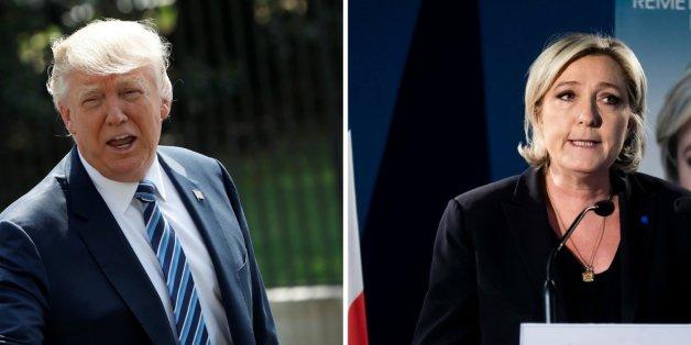 """""""Sie ist die Stärkste für Frankreich"""": US-Präsident Trump lobt kurz vor der Wahl die französische Rechtspopulistin Le Pen"""