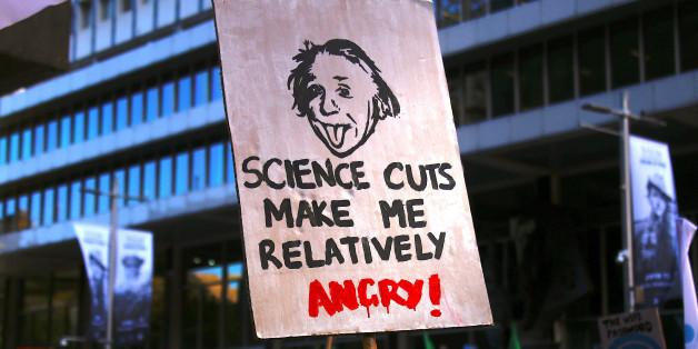 """""""March for Science"""": Weltweite gehen tausende Menschen für die Wissenschaft auf die Straße"""