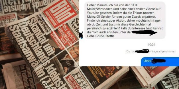 """Die """"Bils""""-Zeitung hat nicht nur Freunde."""