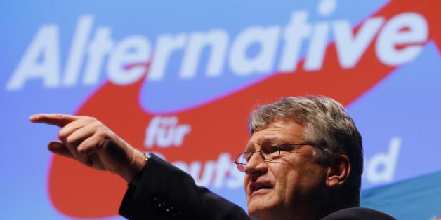 Joerg Meuthen beim Bundesparteitag der AfD