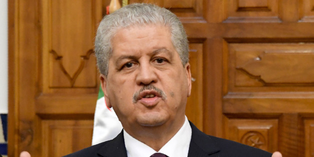 Algerian Prime Minister Abdelmalek Sellal gives a press conference on March 9, 2017 in Tunis.   Algerian President Abdelaziz Bouteflika, who has rarely appeared in public since a crippling stroke in 2013, is doing 'very well', the country's prime minister said during a press conference. / AFP PHOTO / FETHI BELAID        (Photo credit should read FETHI BELAID/AFP/Getty Images)