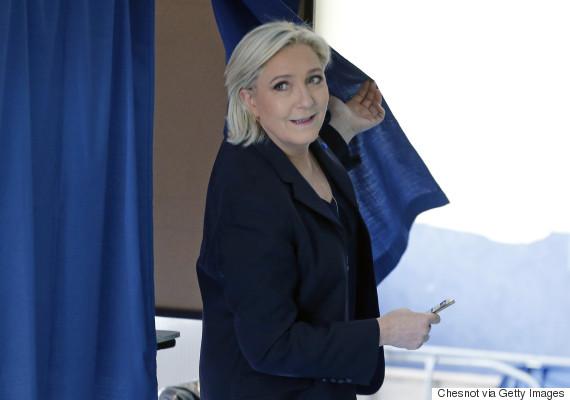 france le pen election 23 april 2017