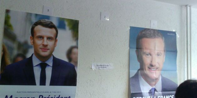 Darum hängen in keinem französischen Wahllokal im Ausland Plakate von Le Pen