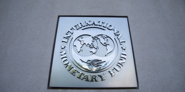 WASHINGTON, USA - AUGUST 26: The International Monetary Fun headquarters in Washington, USA on August 26, 2016. (Photo by Samuel Corum/Anadolu Agency/Getty Images)