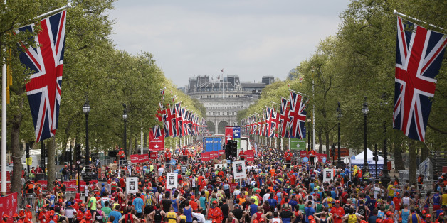 Britain Athletics - London Marathon - London - 23/4/17 General view of the mall after runners have finished the marathon Action Images via Reuters / Matthew Childs Livepic