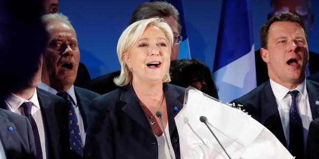 Macron führt nach Auszählung von 80 Prozent der Stimmen - Frankreich-Wahl im Live-Blog