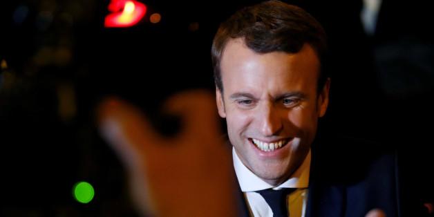 Die Politiker Europas jubeln über den Wahlerfolg des unabhängigen Präsidentschaftskandidaten Macron