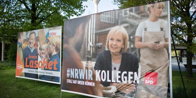 Umfrage sagt Kopf-an-Kopf-Rennen bei NRW-Landtagswahl voraus