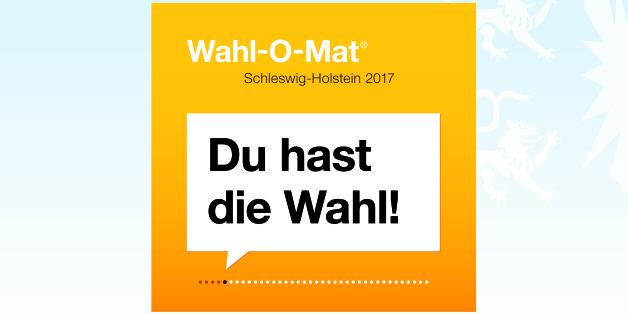 Alle kandidierenden 13 Parteien unterstützen den Wahl-O-Mat  Schleswig-Holstein 2017