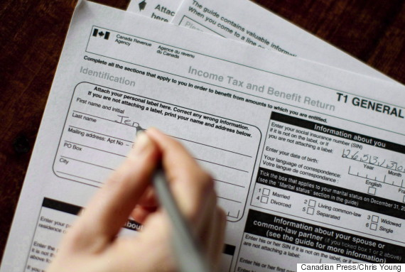 canada tax form