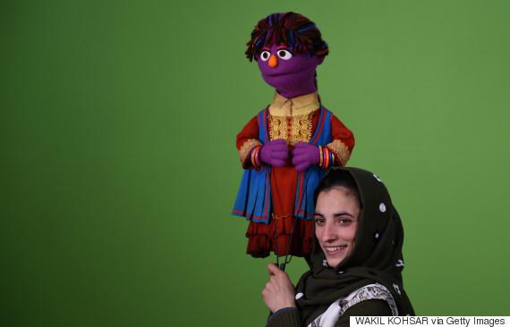 sesame street afghan