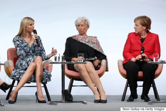 ivanka merkel berlin 2017