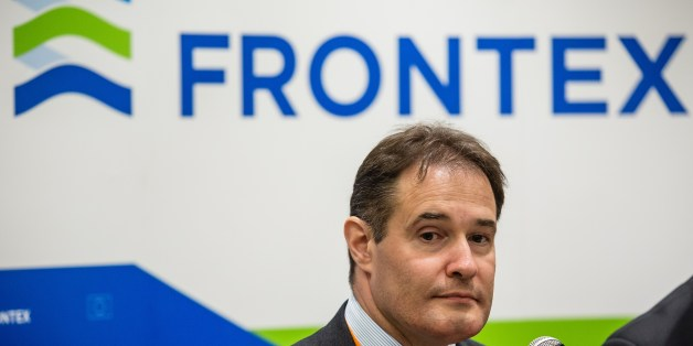 Fabrice Leggeri, head of European border control agency Frontex  attends a press conference in Warsaw, on May 21, 2015. AFP PHOTO / WOJTEK RADWANSKI        (Photo credit should read WOJTEK RADWANSKI/AFP/Getty Images)