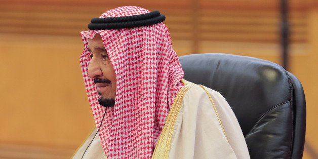 Saudi Arabia's King Salman bin Abdulaziz Al-Saud looks on during the meeting with China's President Xi Jinping (not pictured) at the Great Hall of the People in Beijing, China March 16, 2017. REUTERS/Lintao Zhang/POOL