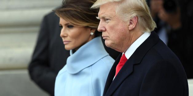Immer wieder stellen sich Beobachter die Frage, ob die Trump-Ehe wohl glücklich ist.