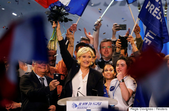 marine le pen supporter