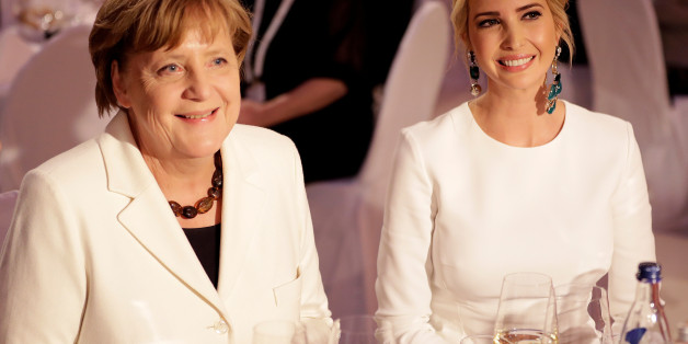 """Angela Merkel sei """"sehr liebenswürdig und herzlich"""", sagte Ivanka Trump"""