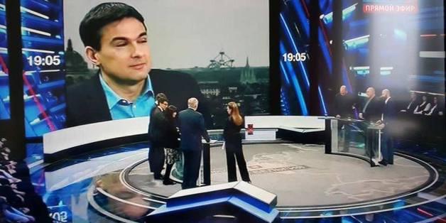 """Boris Reitschuster zu Gast in der Talkshow """"60 Minutes"""""""