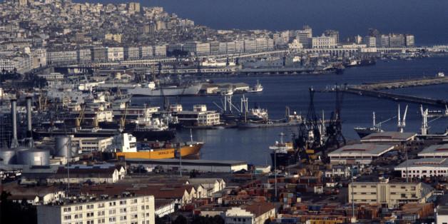 ALGERIA - CIRCA 1900:  Algiers, Algeria.  (Photo by Remi BERLI/Gamma-Rapho via Getty Images)