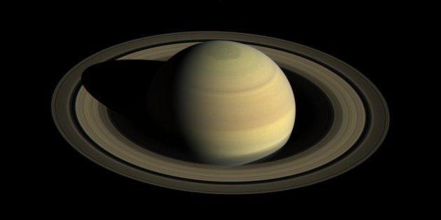 Saturne, prise en photo par la sonde Cassini en avril 2016.
