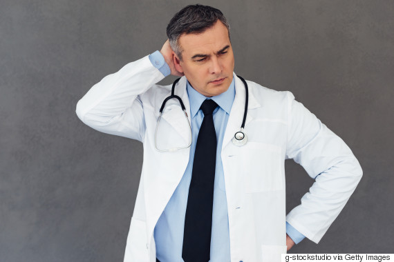 confused doctor