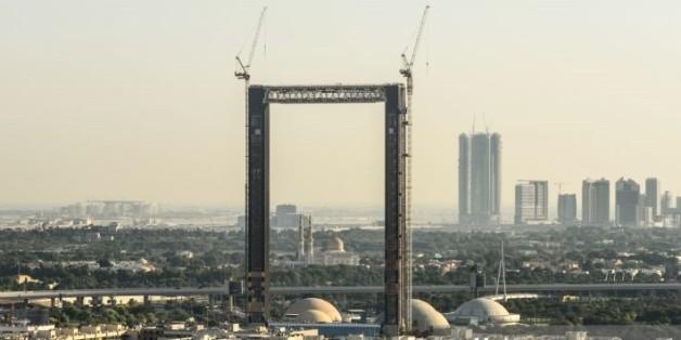 """Der """"Dubai Frame"""" wird die Stadt Dubai wie ein Bilderrahmen einfassen."""
