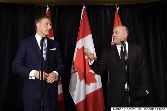 maxime bernier kevin oleary
