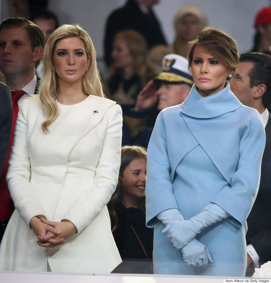 melania trump inauguration