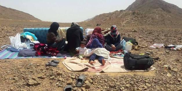 A la frontière maroco-algérienne, les migrants syriens attendent toujours le droit d'asile