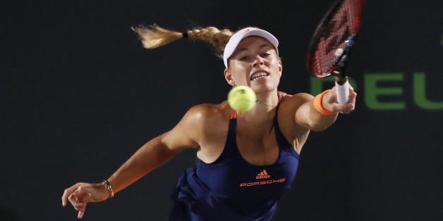 Angelique Kerber steigt in das WTA-Turnier in Stuttgart ein